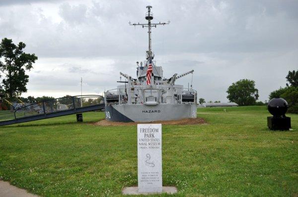 USS Hazard AM-240 at Freedom Park
