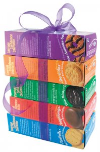 Girl Scout Cookie Box Set