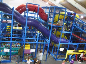 Indoor Playground at Mahoney State Park