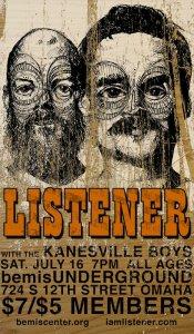 Listener concert poster