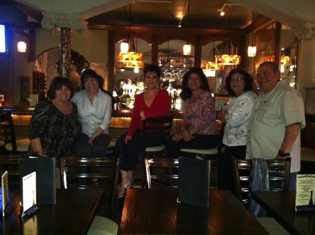Marino sisters and the Losoles at Lo Sole Mio
