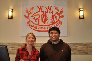 Indre and Kazu - Owners of Long Dog Fat Cat