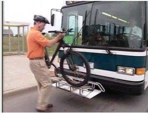 MAT Bike Racks in action