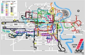 Omaha City Bus Routes