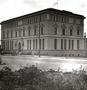 Omaha Public Library in 1857