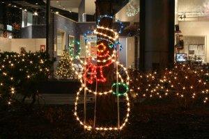 Illuminated Snowman