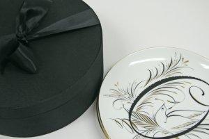D.L Co. Love Porcelain Plates