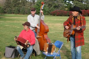 Cajun, Zydeco + Creole trio the PrairieGators