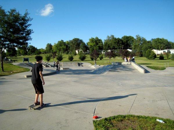 Roberts Skate Park Omaha
