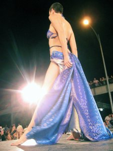 Runway Model at 2008 OFW: photo by @lasertron