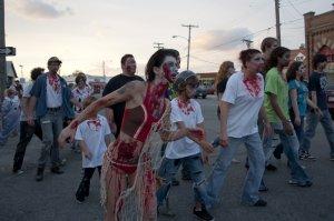 Doing the Zombie Shuffle