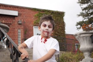 Kids make great Zombies!